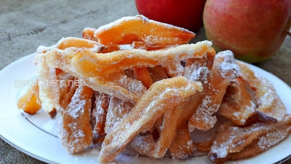 Рецепт цукатов из груш