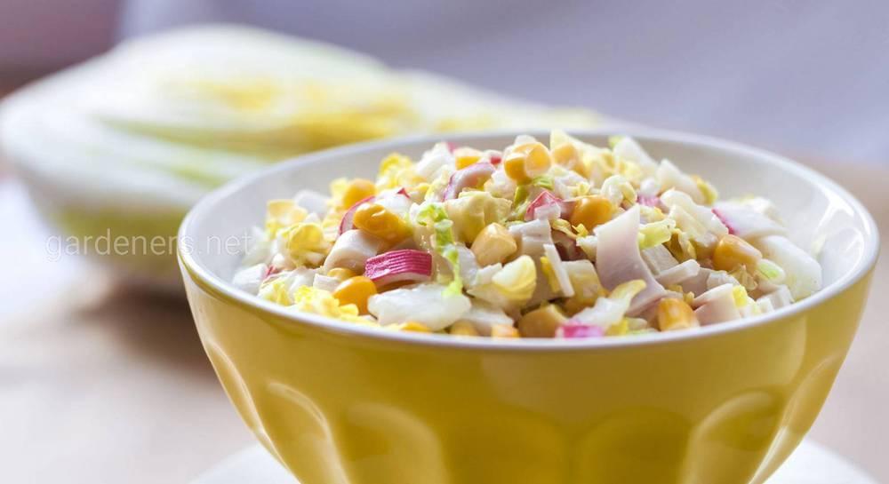 крабовые палочки салат 1