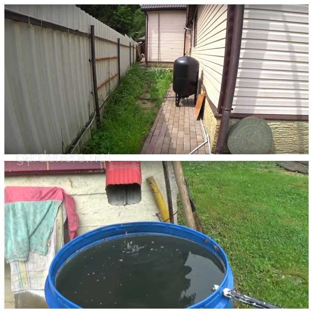 Преимущество дождевой воды в поливах растений