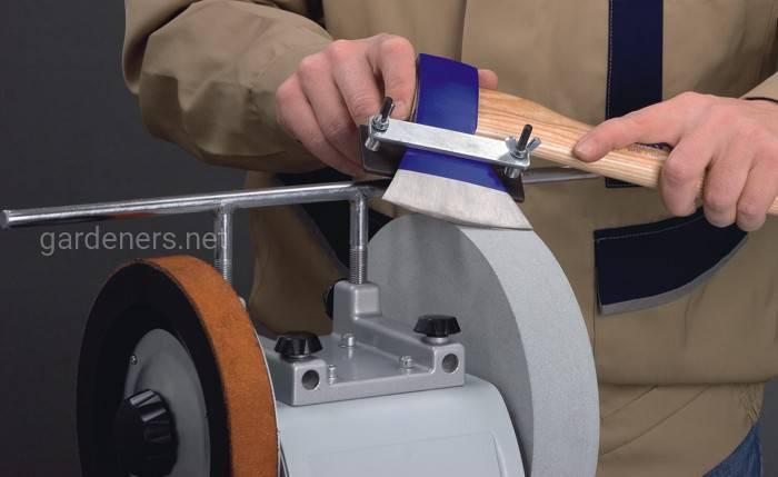 Как заточить топор электроточилом
