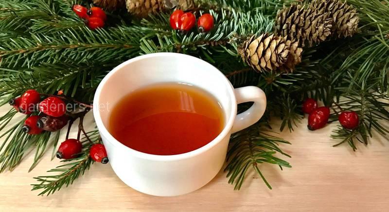 чай з приємним пряним смаком