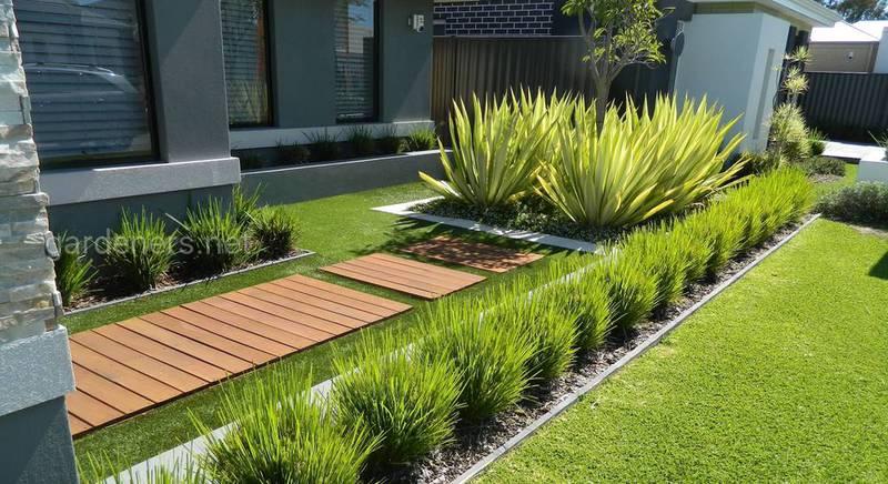 Специфика оформления сада в стиле модерн