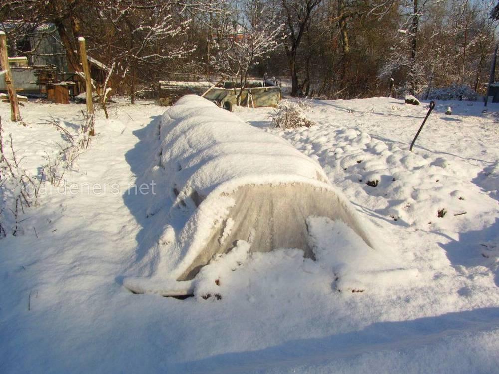 Материалы для зимнего укрытия
