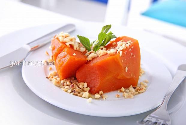 Рецепт тыквы в Турции