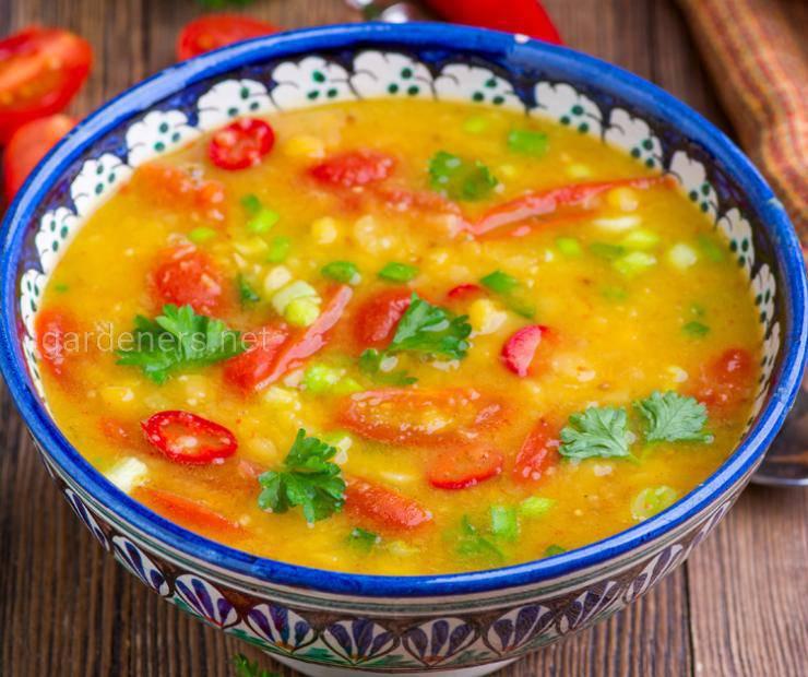Суп гороховый со специями