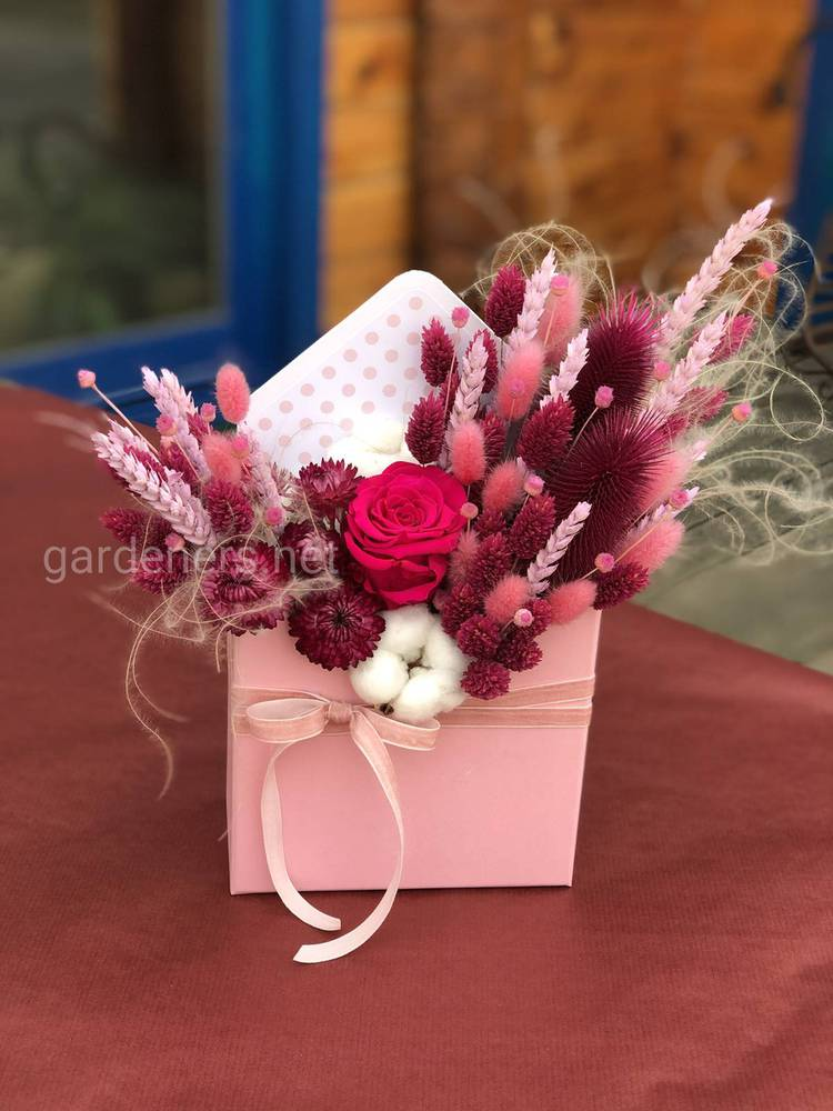Использование сухоцветов для флористики
