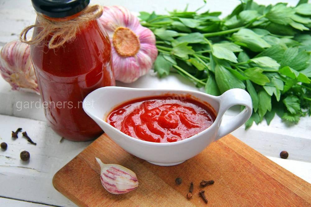 Острый кетчуп