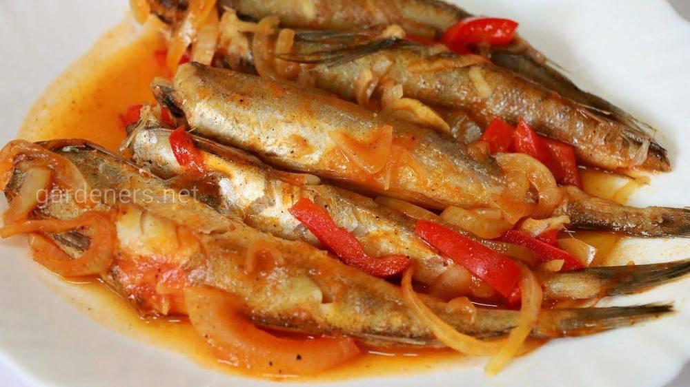 Тушеная рыба