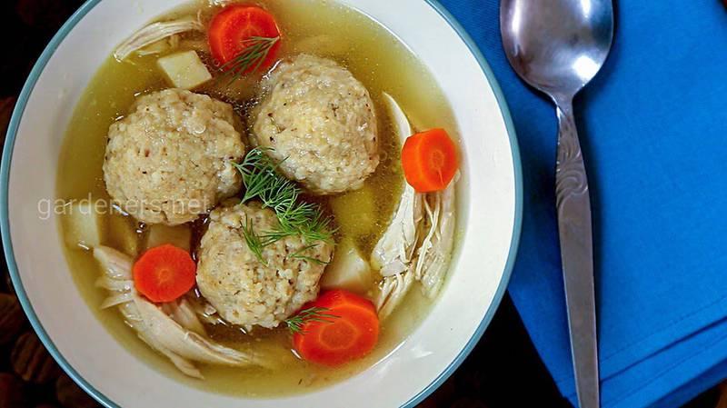 Рецепт детского супа
