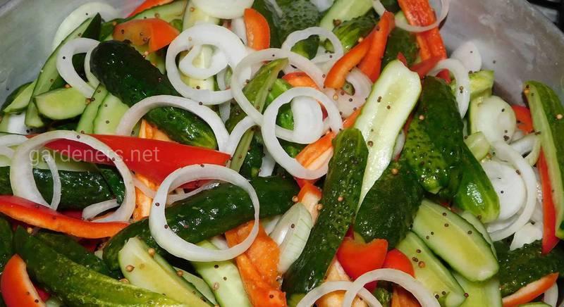 Салат з болгарським перцем
