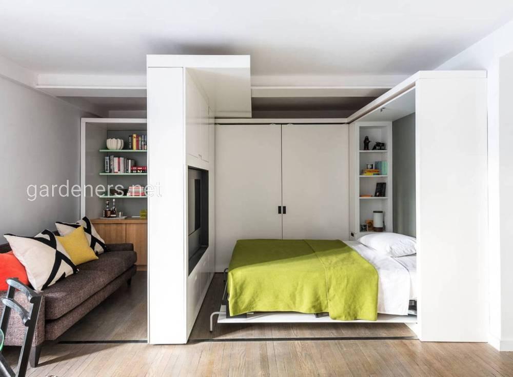 Разделение общего пространства на комнатки