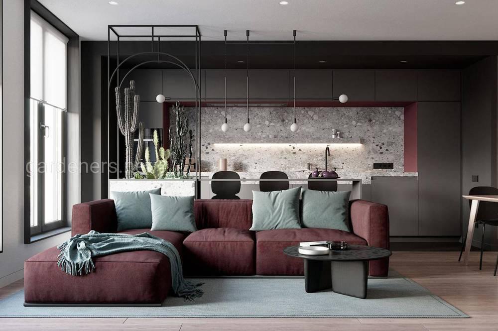 Современные формы мягкой мебели