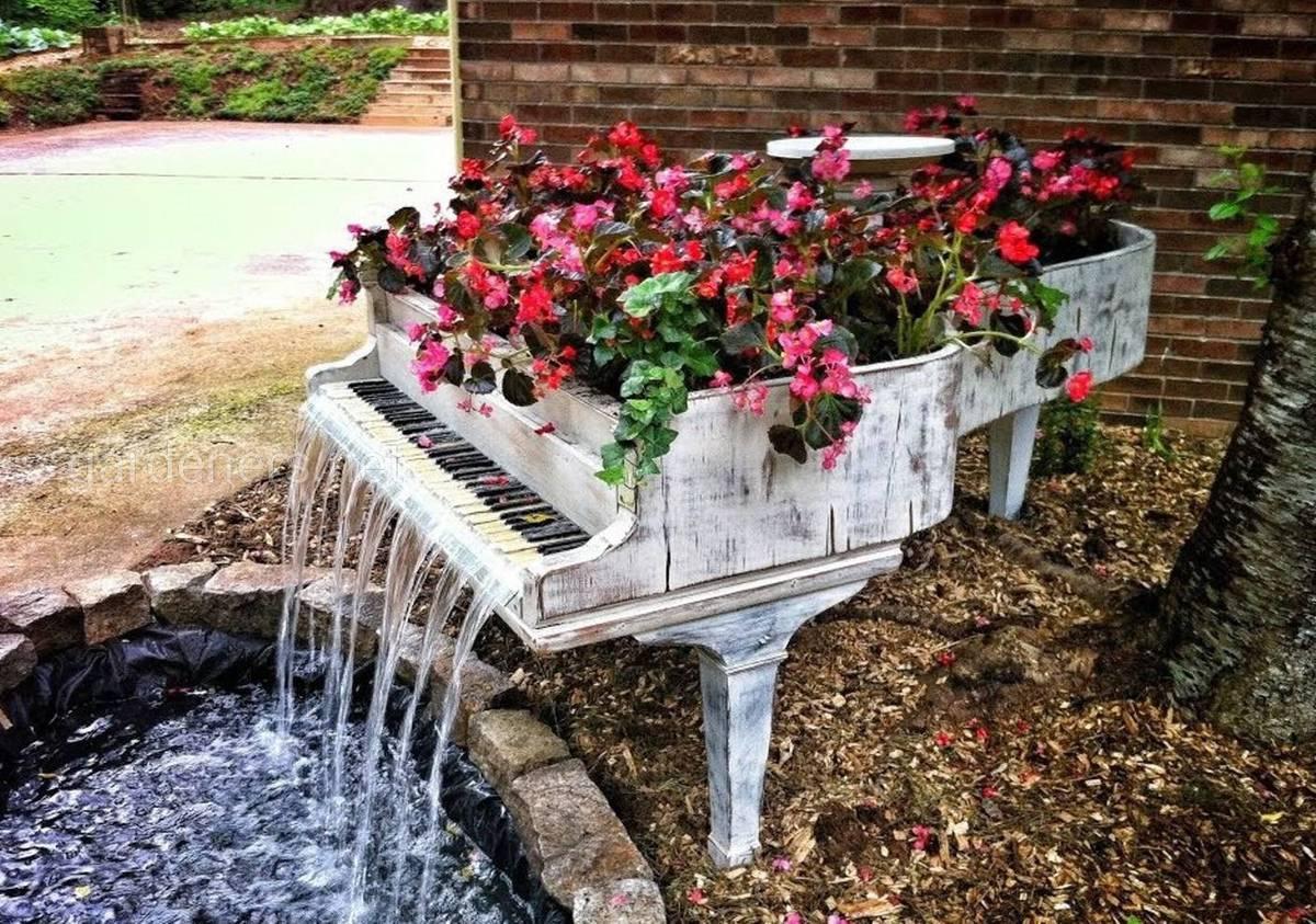 Рояль для цветника