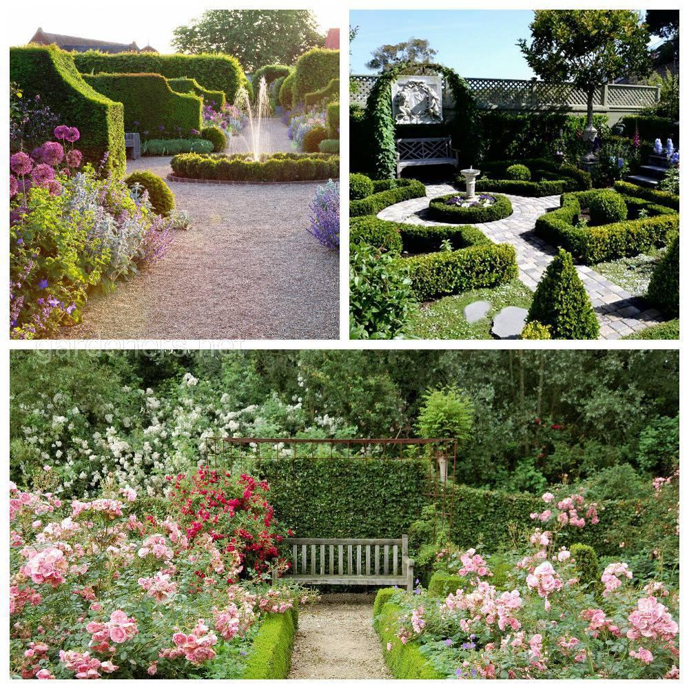 стиль английский сад