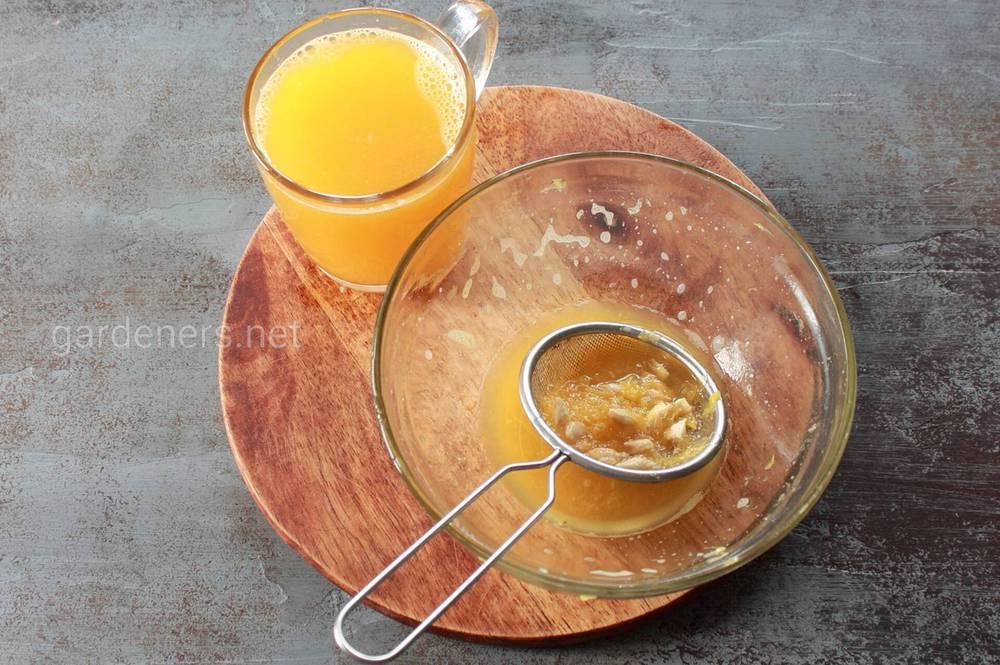 апельсиновый сок дома