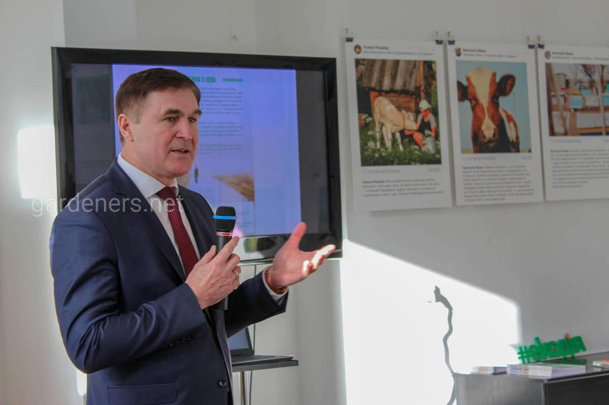 Заступник Міністра аграрної політики та продовольства України Шеремета Віктора Васильовича.