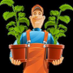 Веселый садовник