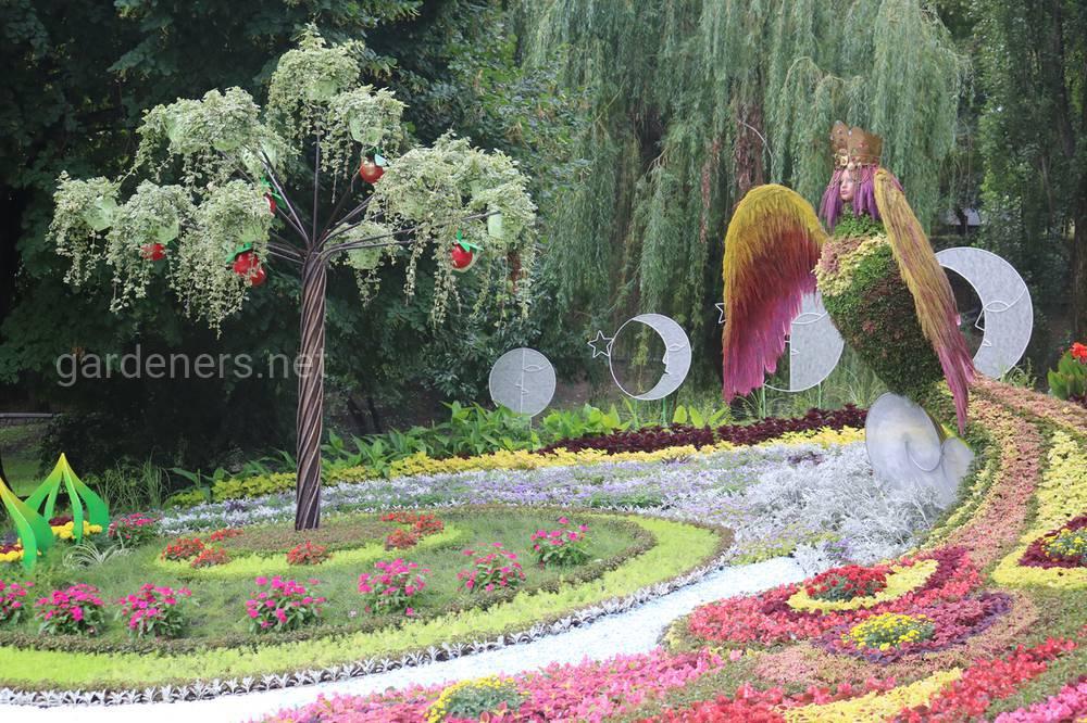 цветы парк