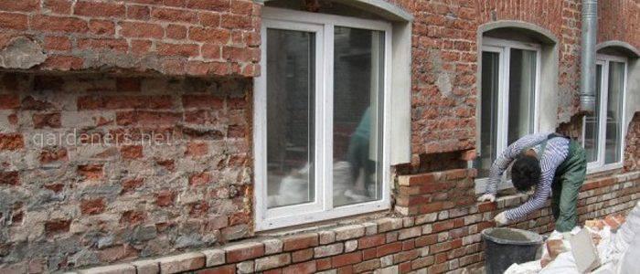 Як відновити старий цегляний будинок