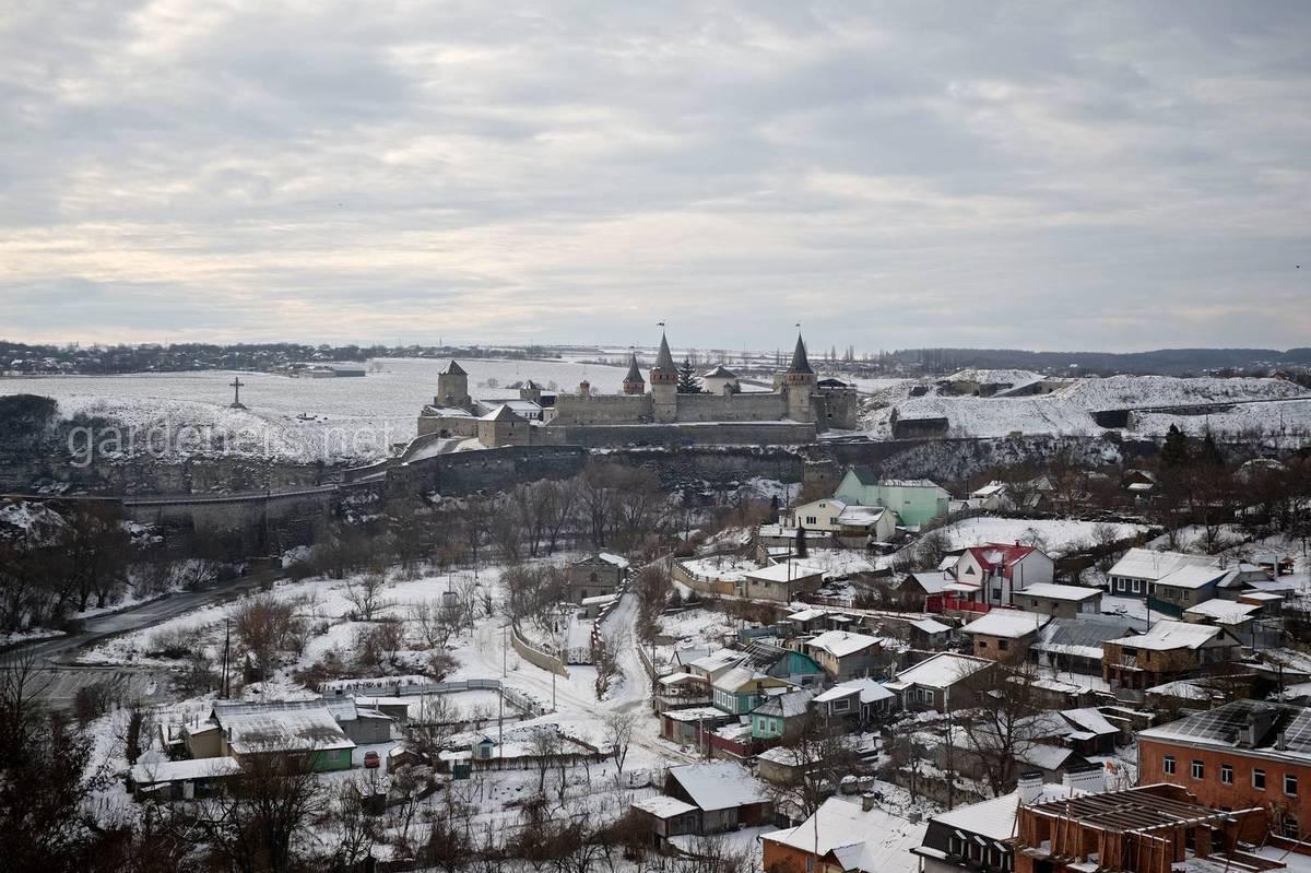 Панорама замка, Каменец-Подольский