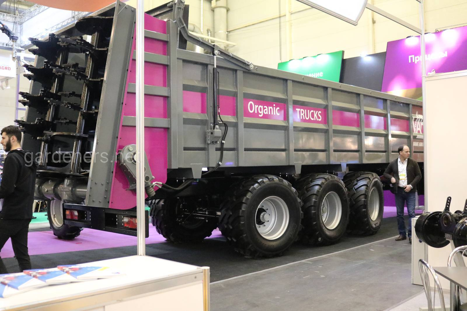 Украинский прицеп Organic Trucks