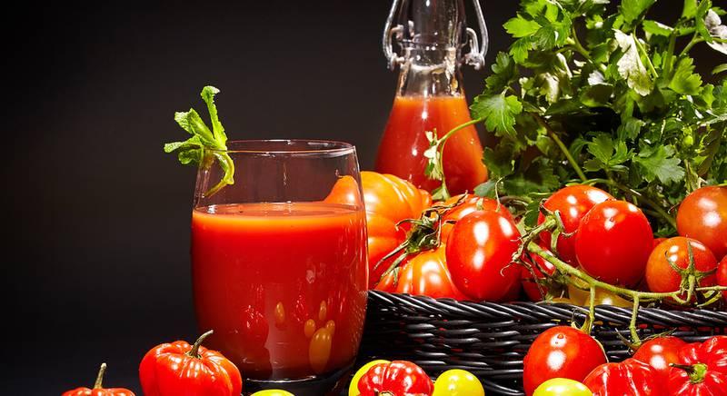 Польза томатного сока для вашего организма