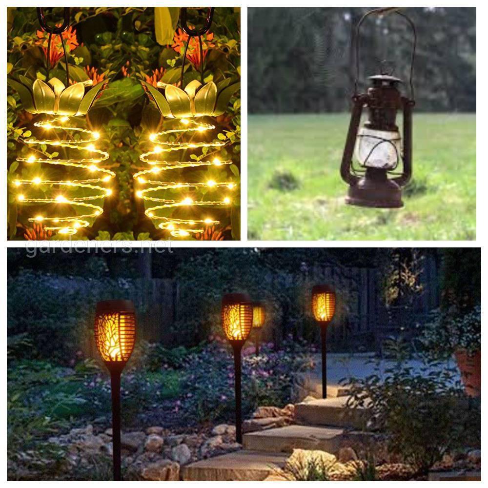 Кованые фонари и светильники