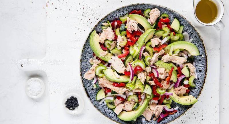 Вкуснейший салат с тунцом. Рецепт