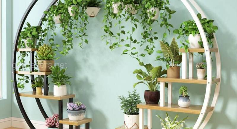 Підставки для рослин: кімнатних і вуличних