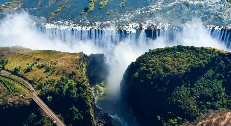 8 интересных фактов о водопаде Виктория