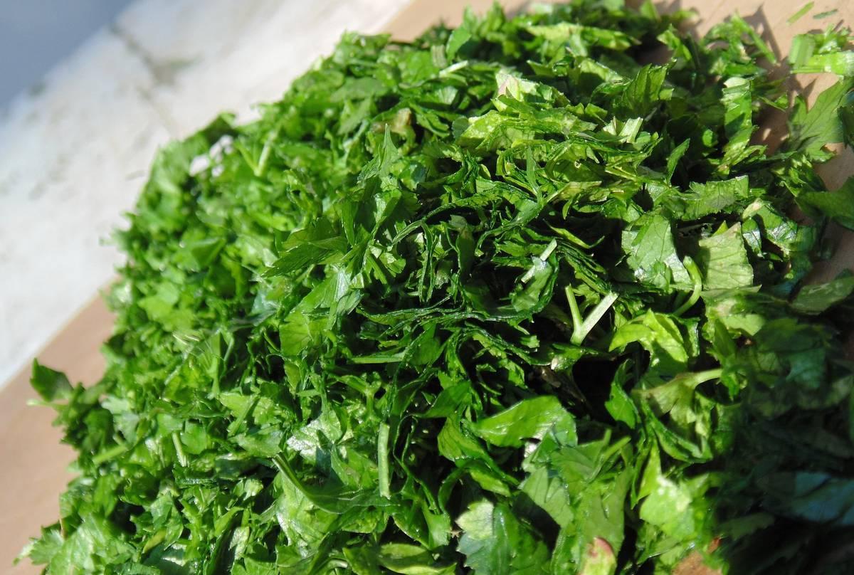 зелень - основа зеленых смузи