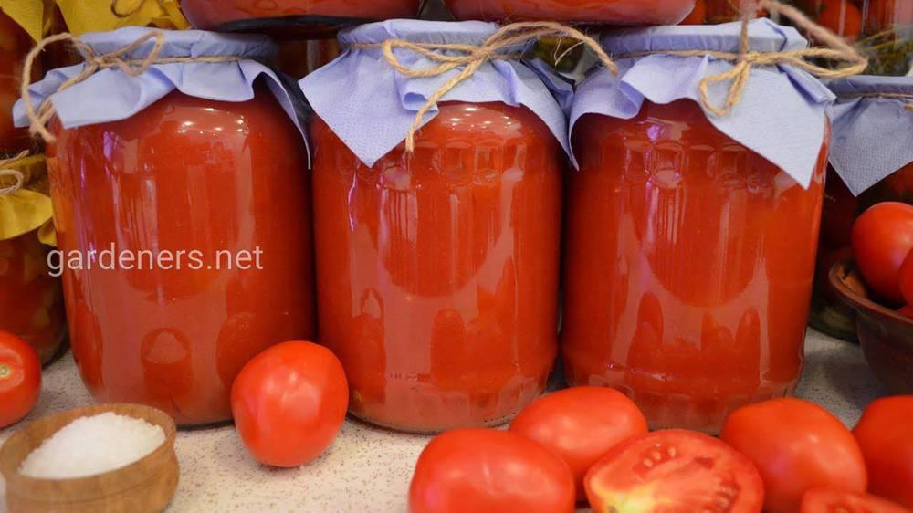 Особливості консервування томатів