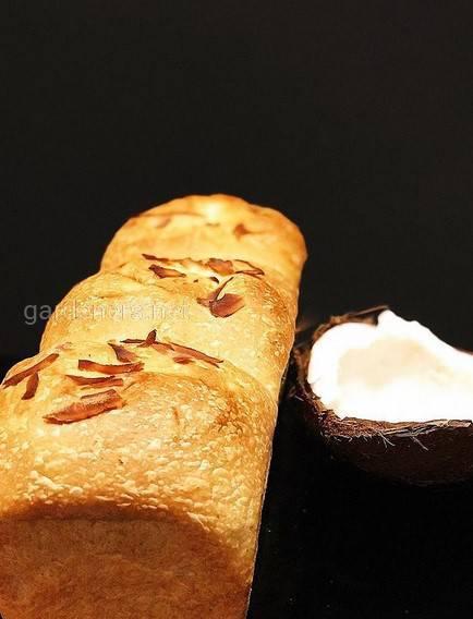Кокосовий хліб
