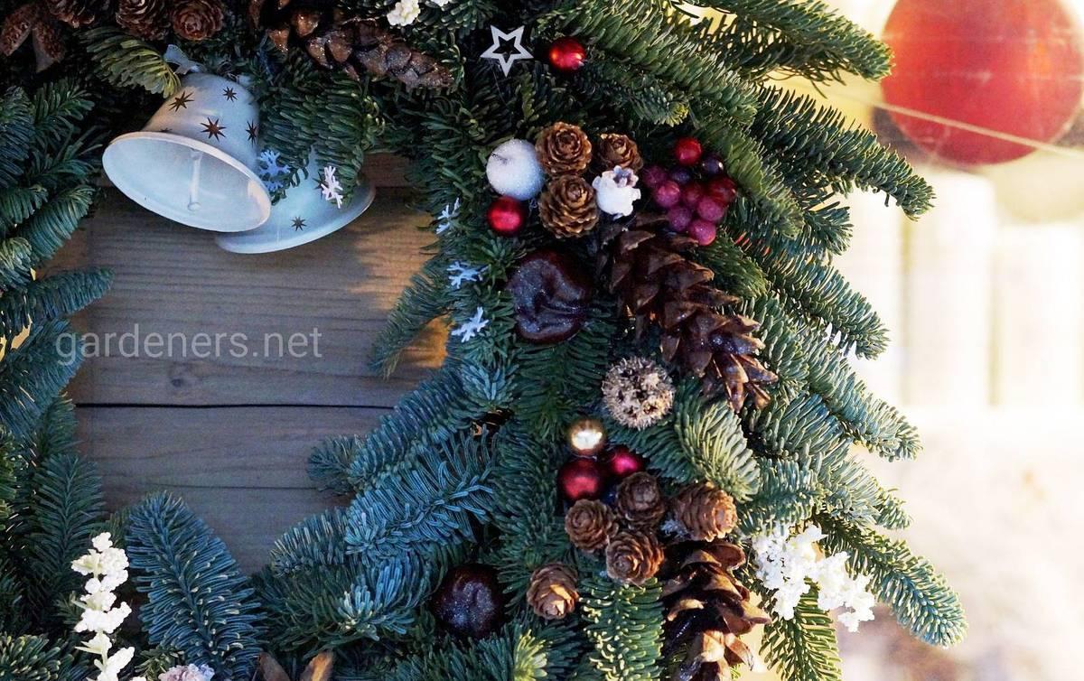 традиция рождественского венка