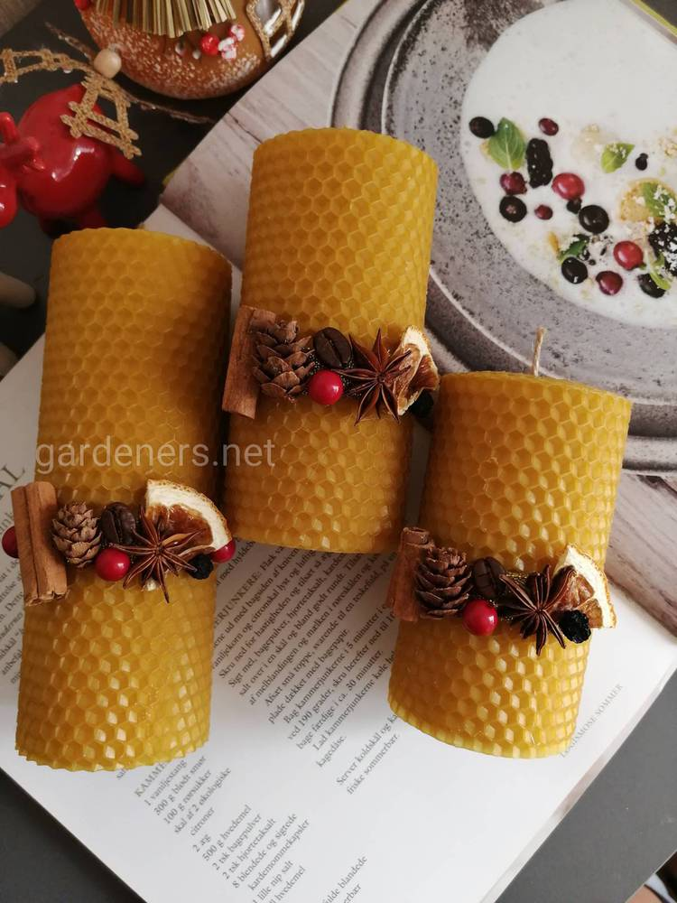 декоративные свечи сделанные вручную