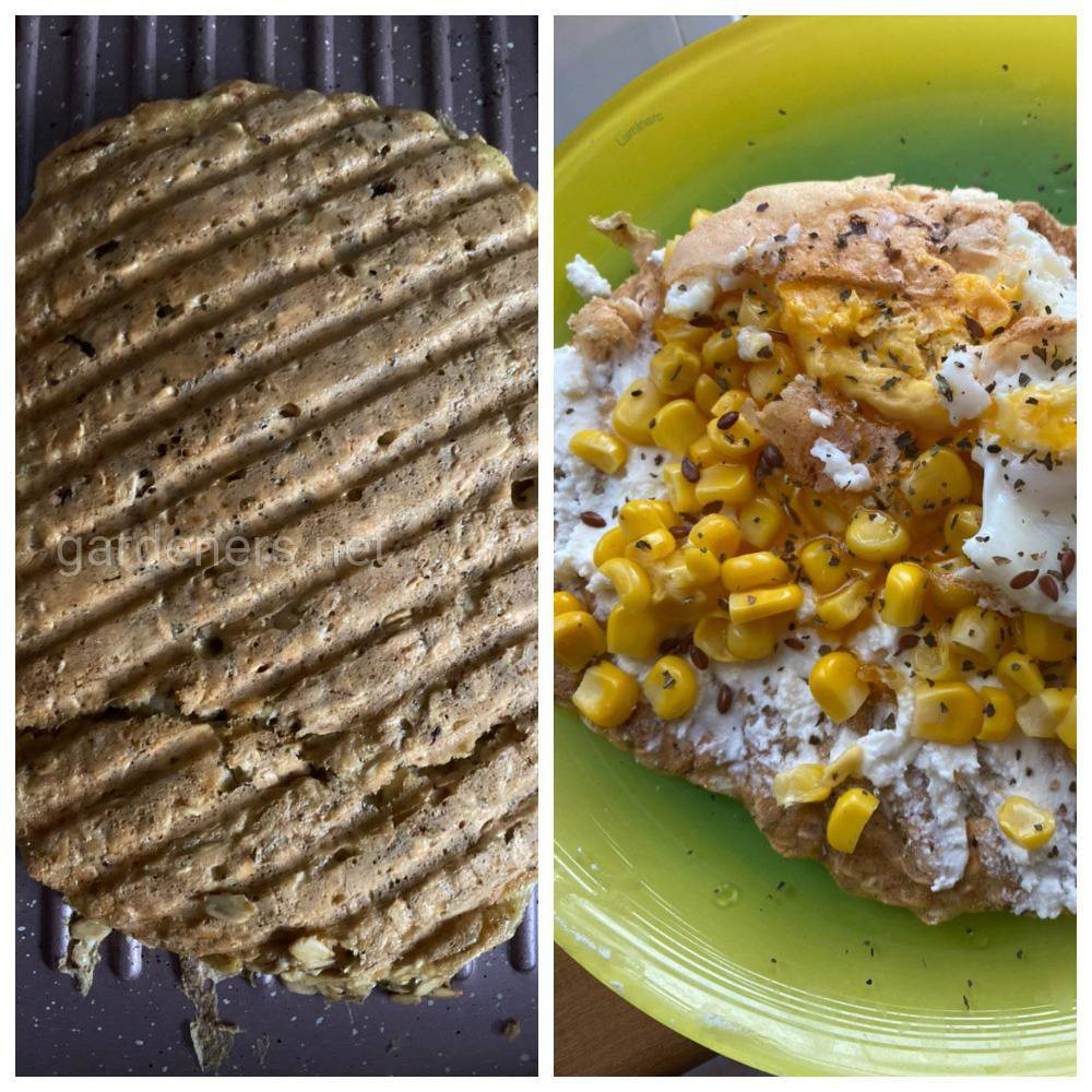Завтрак с кукурузой