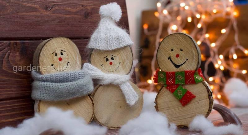 Новогодние идеи украшений из дров: празднуем необычно