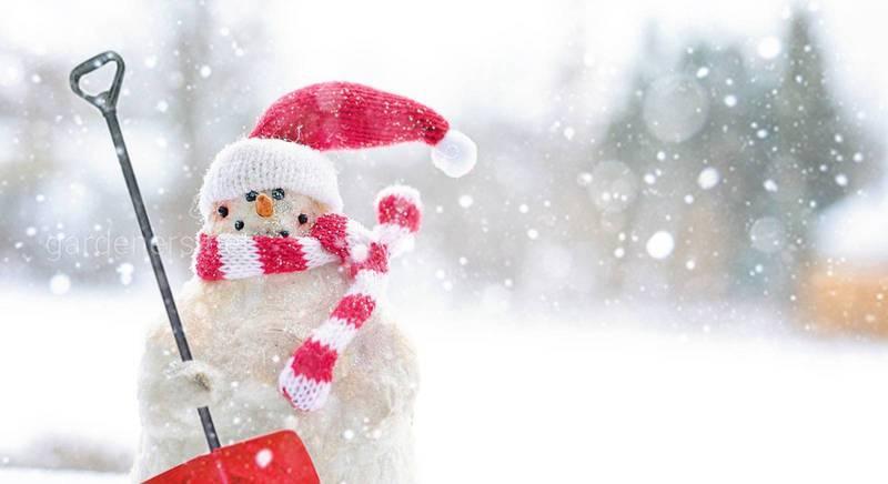 Создаём снеговика — идеи для зимних забав