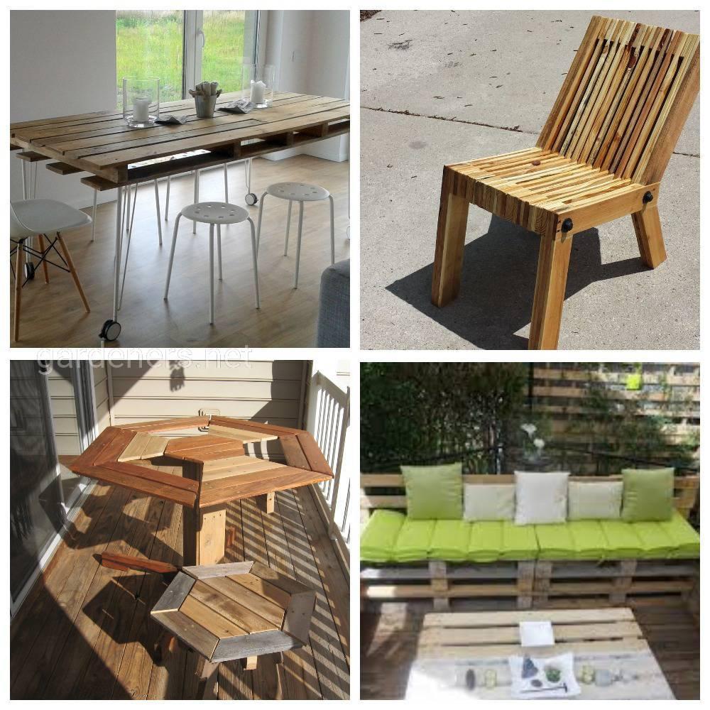 садовая мебель мебель из поддонов