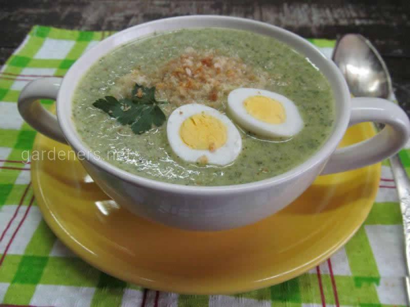 Крем-суп из пекинской капусты
