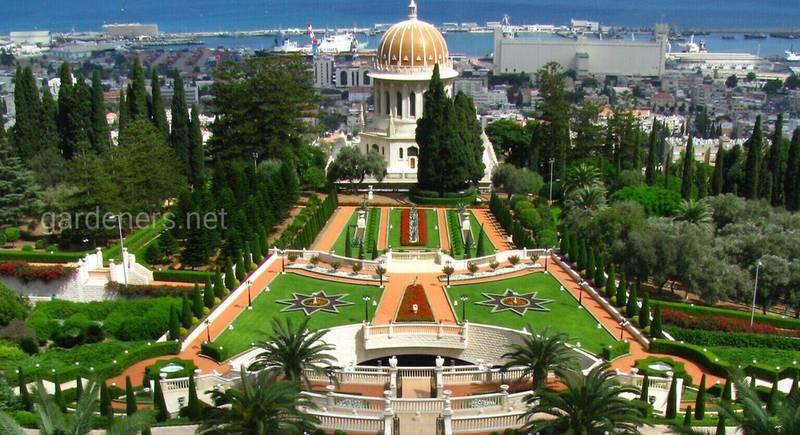 Велич Бахайських садів в Хайфі