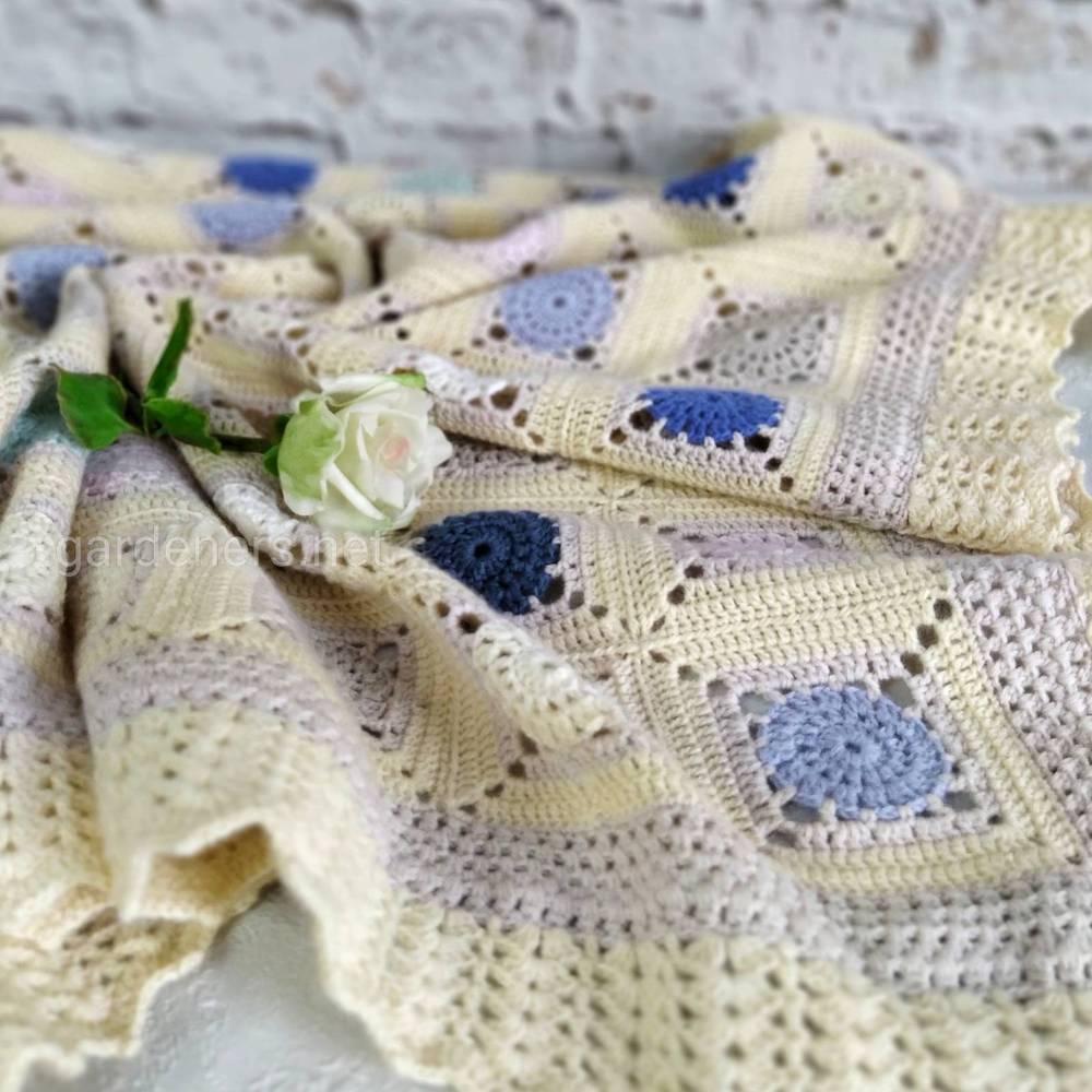 Вязаные шарфы и косынки