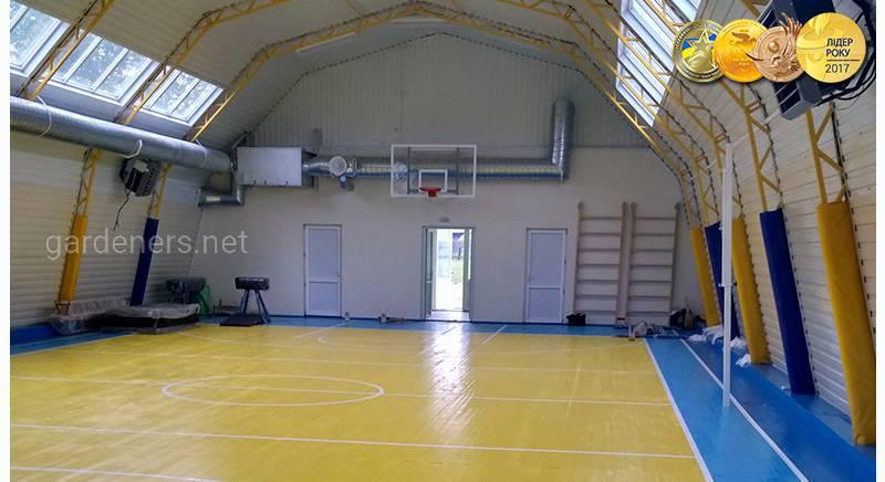 Ангары под спортзал, каток, футбольное поле, теннисный корт
