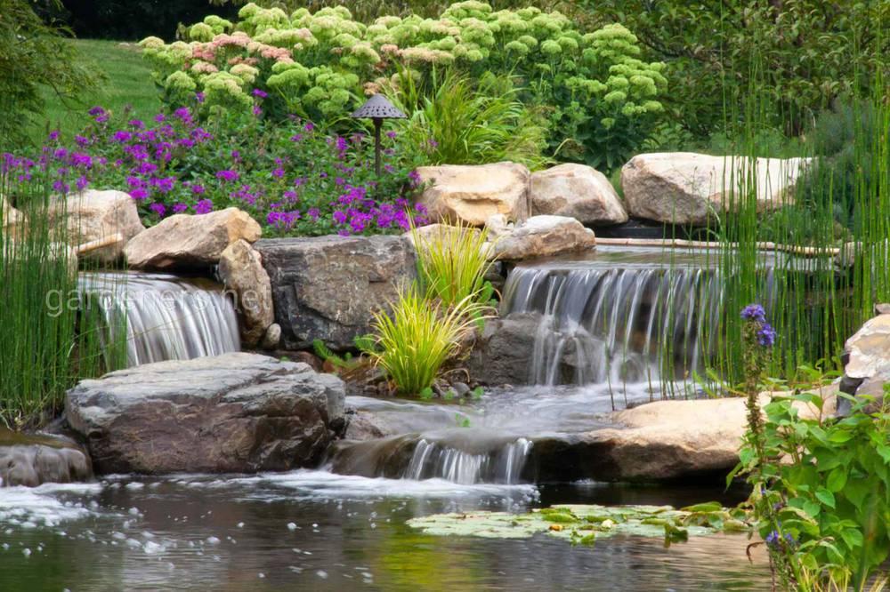 Водопады и водные каскады