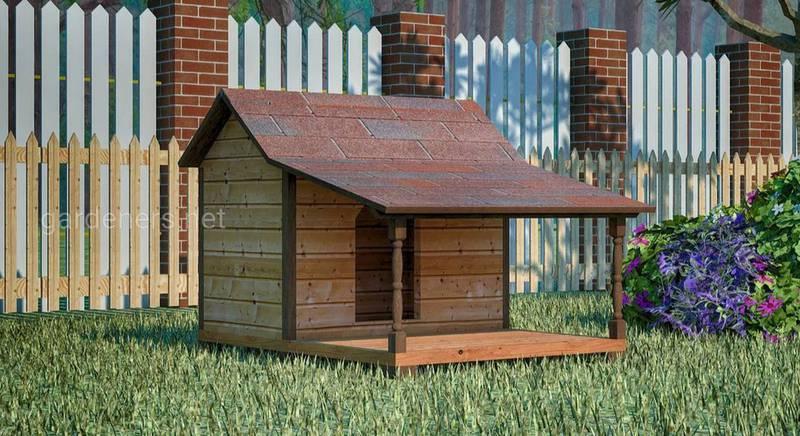 Будиночок для собаки: варіанти будок