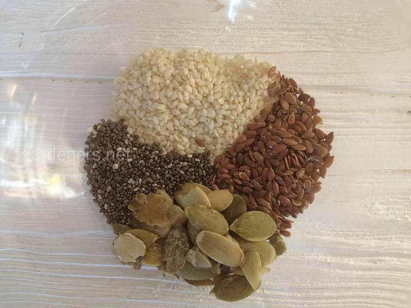 ТОП-4 семян для вашего здоровья и рецепты с ними