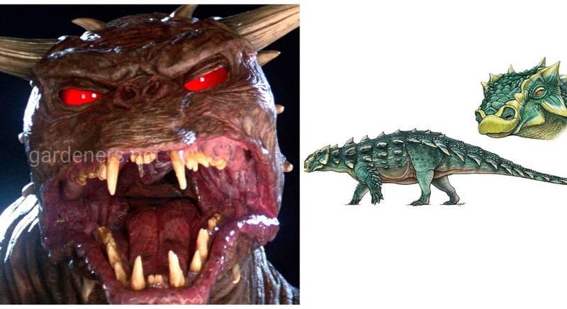 Анкілозавра з булавою на хвості назвали Zuul на честь демонічного напівбога з фільма «Мисливці за привидами»