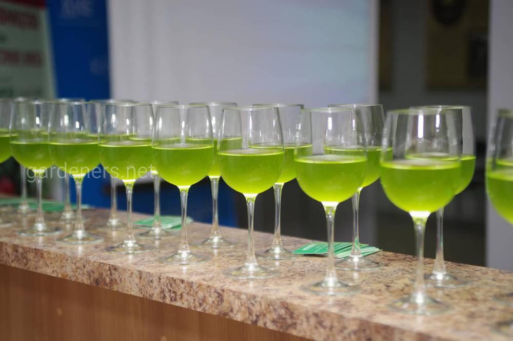 Зеленые коктейли на основе хлореллы