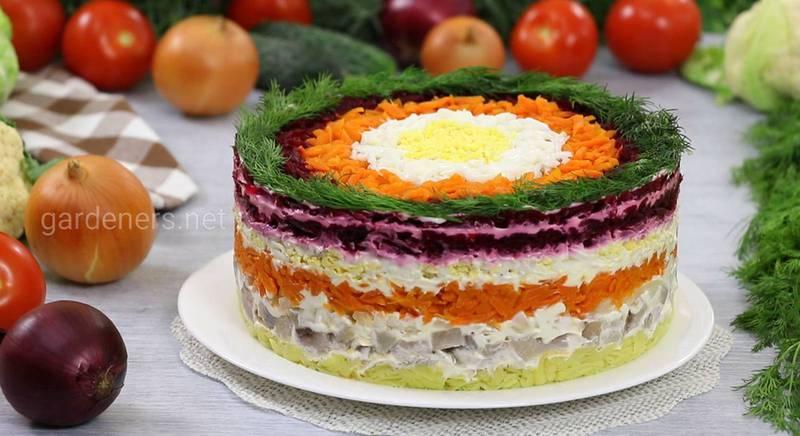 Рецепти салатів для зустрічі Нового Року