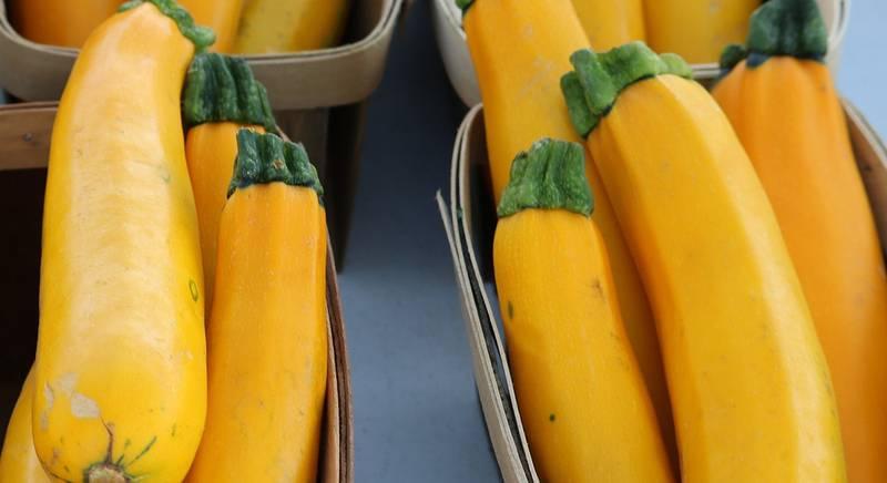 Цуккини желтого цвета
